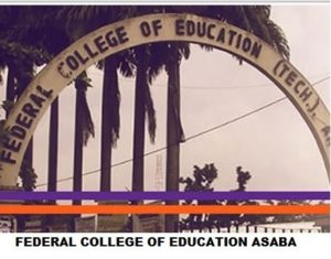 Federal College of Education Asaba Cut Off Marks