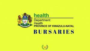 KwaZulu Natal Health Bursaries