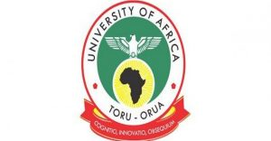 Courses Offered in University of Africa Toru Orua