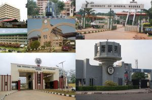 State Universities In Nigeria & Cut Off Marks