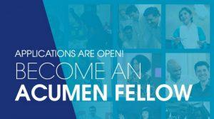 Acumen West Africa Fellowship for Entrepreneurs