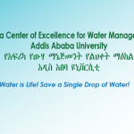 Africa Center of Excellence for Water Management MSc and PhD Programs