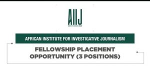 African Institute for Investigative Journalism Fellowship Programme