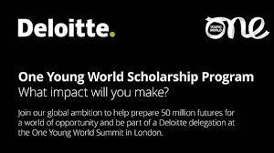 Deloitte One Young World Scholarship Program