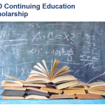 Engineering for Development Continuing Education Scholarship