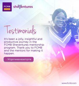 FCMB SheVentures Mentorship Program