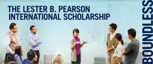 Lester B Pearson International Scholarship Program