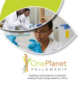 One Planet Fellowship for Emerging African Researchers