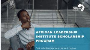 ALI Business Development Scholarship Program