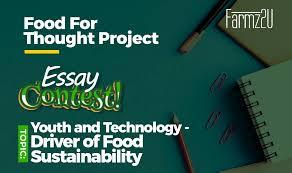 Farmz2u 'Food For Thought' Essay Contest