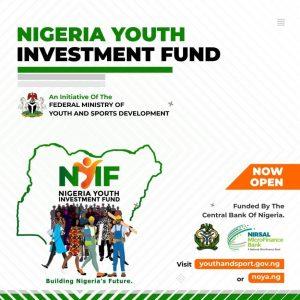 Nigeria Youth Investment Fund NYIF