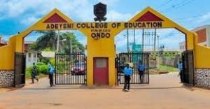 ACEONDO NCE in Political Science Admission Form