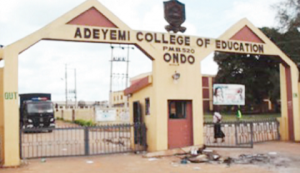 ACEONDO NCE in Theatre Arts Admission Form