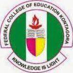 Federal College of Education Kontagora Admission form